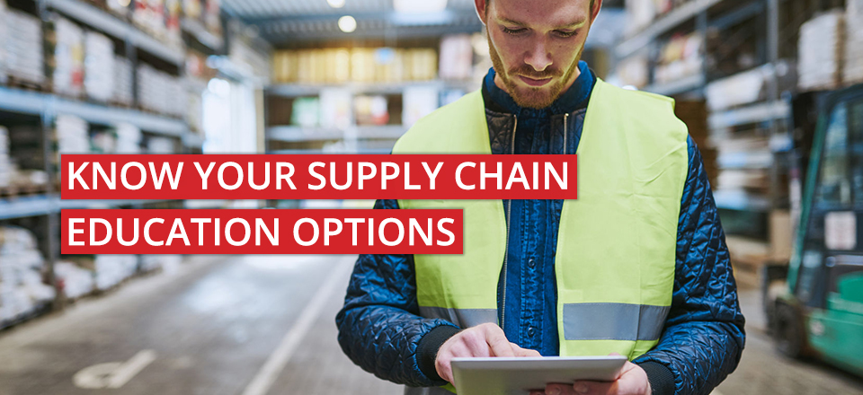 Supply Chain Education Options